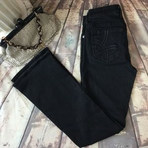 KUT From the Kloth 4 Black Bootcut Jeans Stretch
